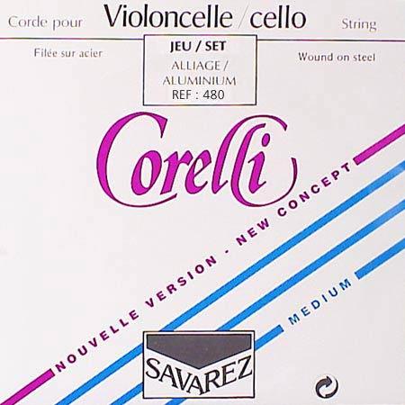 jeu de cordes pour violoncelle corelli co-480