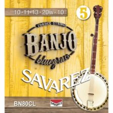 jeu de cordes savarez custom light banjo bn80cl