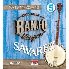 jeu de cordes savarez medium banjo bn80m