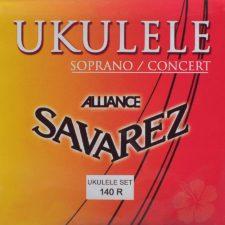 jeu de cordes savarez pour ukulele soprano