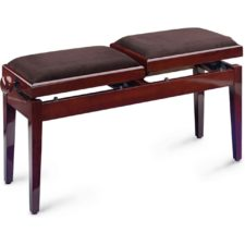 banquette piano double pb245 acajou verni
