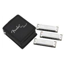 etui 3 harmonicas fender 0990701021