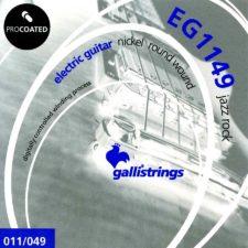 jeu cordes guitare electrique galli g1149
