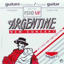 jeu de cordes guitare acoustique argentine 1510-mf