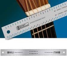 règle d'espacement des cordes instrument à cordes stewmac sm0673