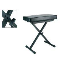 siège clavier ou piano en x boston ob80